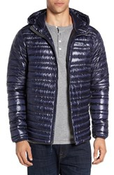 Patagonia Men's 'Ultralight' Water Repellent 800 Fill Down Puffer Jacket Navy Blue