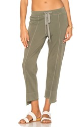 Wilt Crop Shifted Sweatpant Green
