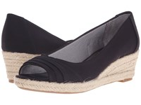 Lifestride Occupy Black Women's Flat Shoes
