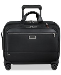 Briggs And Riley Work Large Spinner Briefcase Black