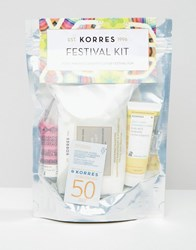 Korres Festival Kit Save 33 Festival Clear