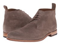 Grenson Marcus Almond Suede Men's Lace Up Boots Taupe