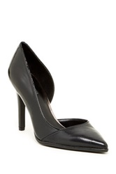 Kenneth Cole Reaction Bee Day Leather Pump Black