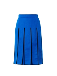 Kenzo Split Panel Knee Length Skirt