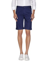 Eleven Paris Trousers Bermuda Shorts Men Blue