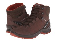 Lowa Tiago Gtx Mid Espresso Rust Men's Shoes Brown
