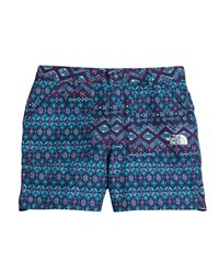 The North Face Amphibious Ikat Shorts Size Xxs Xl Blue
