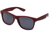 Vans Spicoli 4 Shades Red Dahlia Frosted Sport Sunglasses Brown