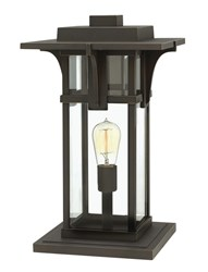 Hinkley Manhattan Outdoor Pier Mount Light 2327Oz Incandescent Brown