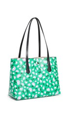 Kate Spade New York Molly Party Floral Small Tote Green Multi