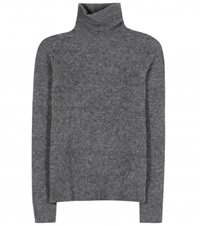 Marc By Marc Jacobs Wool Blend Turtleneck Sweater Grey