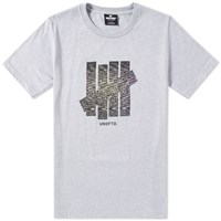 Undefeated Static Strike Tee Grey