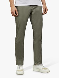 Ted Baker Clenchi Slim Fit Chinos Mid Green