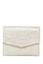 Lodis Cinnamon Leather Midi Wallet Metallic