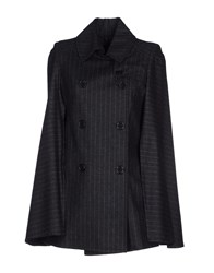 Adele Fado Coats And Jackets Cloaks Women Steel Grey