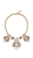 Lulu Frost Odeon Necklace Gold Multi