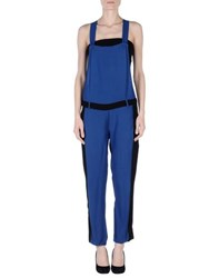 8Pm Dungarees Trouser Dungarees Women Bright Blue