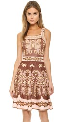 M Missoni Embroidery Jacquard Dress Pink