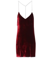 Amiri Velvet Top Red