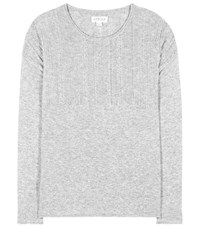 Velvet Ali Embellished Sweater Grey