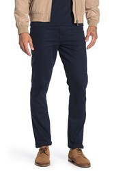 English Laundry Stretch Canvas Slim Fit Pants 30 32 Inseam Dark Sapphire