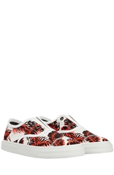 Marc Jacobs Printed Slip On Sneakers