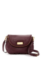 Marc By Marc Jacobs New Q Natasha Leather Crossbody Red