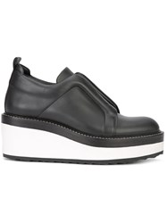 Pierre Hardy Slider Wedged Loafers Black