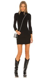 Cotton Citizen Ibiza Mini Dress In Black. Jet Black