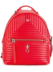 Fendi Backpack Red