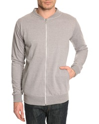 Menlook Label Dan Grey Sweatshirt