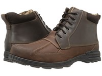Dockers Lakewood Brown Briar Burnished Crazy Horse Men's Lace Up Boots