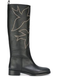 Red Valentino Studded Boots Black