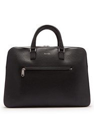 Paul Smith Leather Briefcase Black