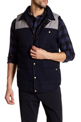 United By Blue Drummond Colorblock Vest Gray