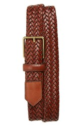 Cole Haan Woven Leather Belt Woodbury