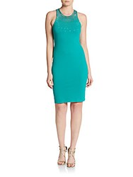 Cynthia Steffe Ava Beaded Bodycon Dress Sea