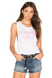 Private Party Summer Love Tank White