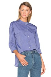 Rachel Comey Empire Shirt Blue
