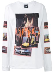 P.A.M. Perks And Mini Pam Witch Car T Shirt Women Cotton S White