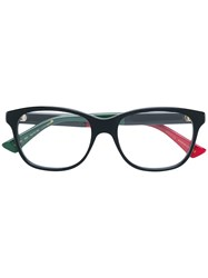 Gucci Eyewear Square Frame Glasses Black