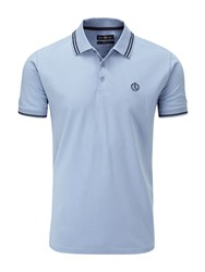 Henri Lloyd Men's Byron Regular Polo Light Blue