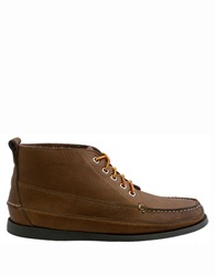 Bass Carlton Leather Chukka Boots Camel