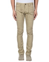 Dandg Trousers Casual Trousers Men Sand