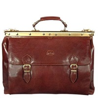 Robe Di Firenze Brown Leather Briefcase