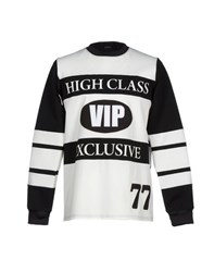 Joyrich Topwear Sweatshirts Men White