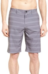 Quiksilver Men's Big And Tall Lines Amphibian Hybrid Shorts Quite Shade