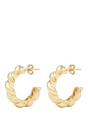Philippe Audibert 'Twist' Hoop Earrings Metallic