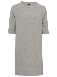 French Connection Summer Sudan Raglan Dress Grey