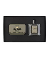Musgo Real Gift Set Soap On A Rope And Cologne Oak Moss